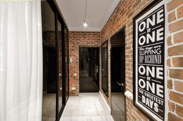 прихожая для узкого коридора дизайн, фото 30