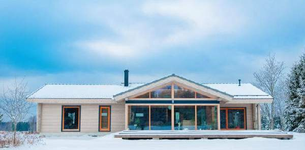 проекты одноэтажных домов из бруса, фото 24
