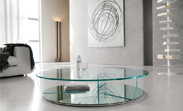 журнальный столик со стеклом, фото 5