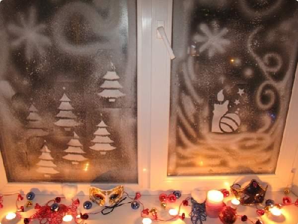 как можно украсить комнату на новый год, фото 32