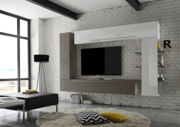 навесные шкафы в гостиную современные, фото 43