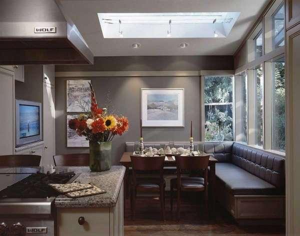 угловые раскладные диваны фото на кухню, фото 28