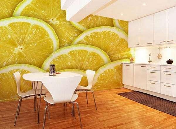 фотообои 3д для стен на кухню, фото 20