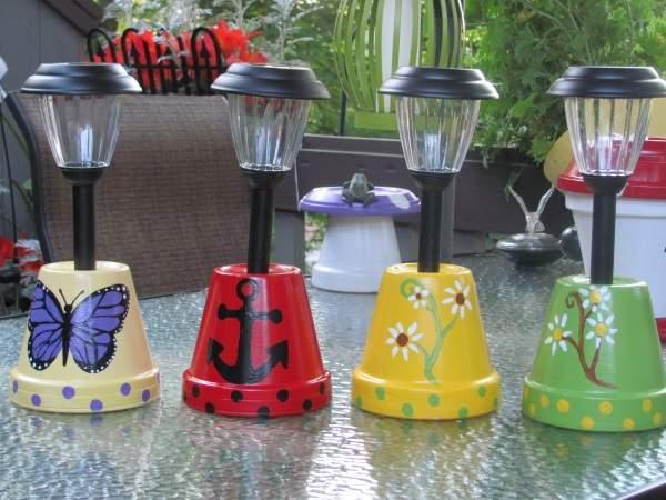 садовый светильник на солнечной батарее своими руками, фото 27