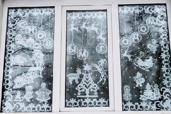идеи как украсить комнату к новому году, фото 35