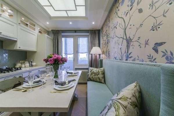 диван узкий на кухню раскладной, фото 22