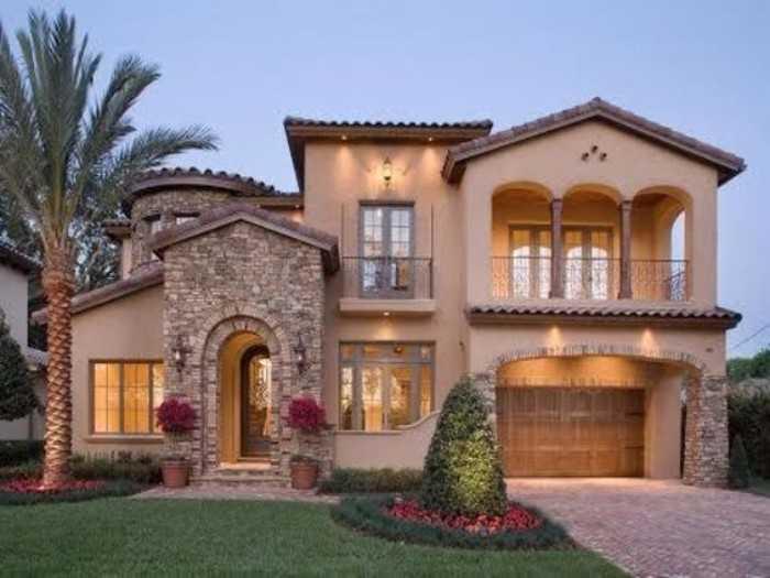 красивые дома фото снаружи, фото 51