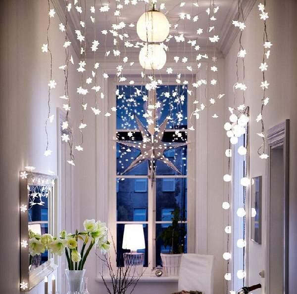 как украсить комнату под новый год, фото 53