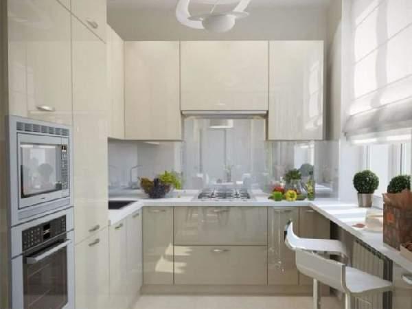 дизайн кухни 6 кв м, фото 17