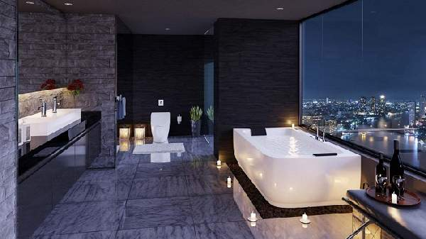 ванная комната раскладка плитки, фото 2