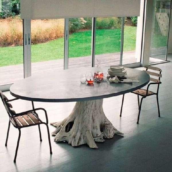 дизайнерский стеклянный обеденный стол, фото 8