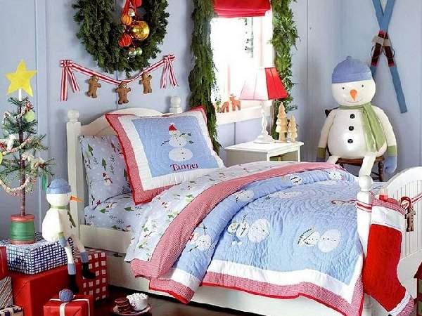 как можно украсить комнату на новый год, фото 5