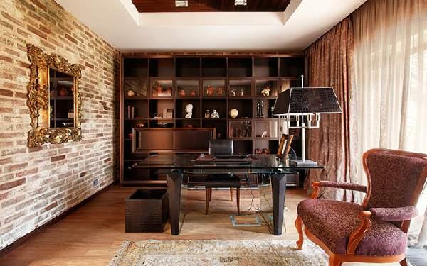 дизайн кабинета в доме, фото 5