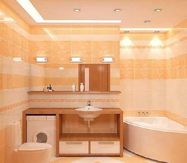 дизайн ремонта маленькой ванны, фото 2
