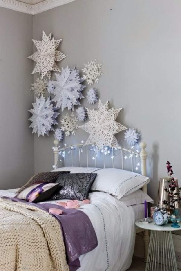 смотреть как украсить комнату к новому году, фото 55