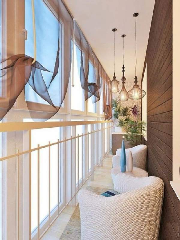 французский балкон шторы, фото 6