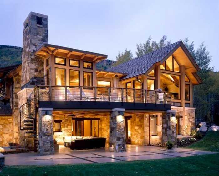 красивые деревянные дома, фото 46