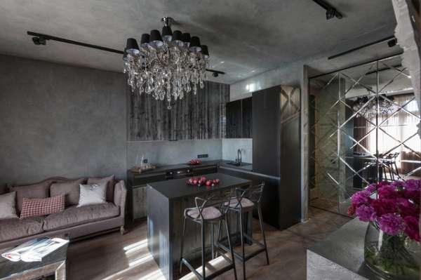 кожаный диван на кухню раскладной, фото 4