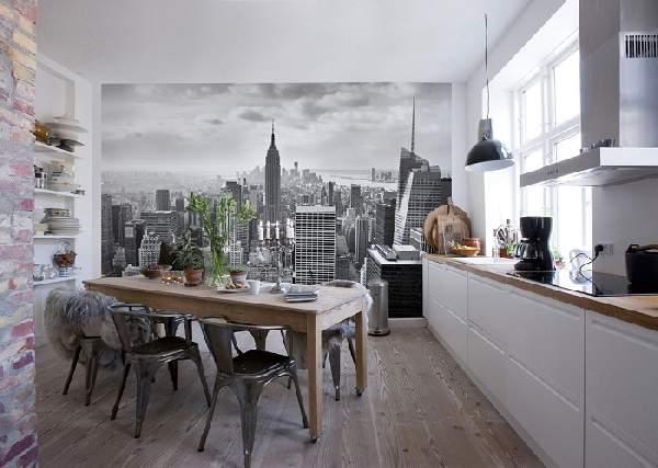 дизайн кухни в доме, фото 6