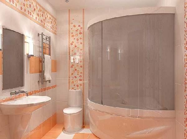 варианты раскладки плитки в ванной фото, фото 6