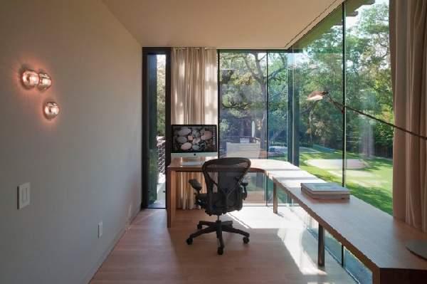 интерьер кабинета в доме фото, фото 9