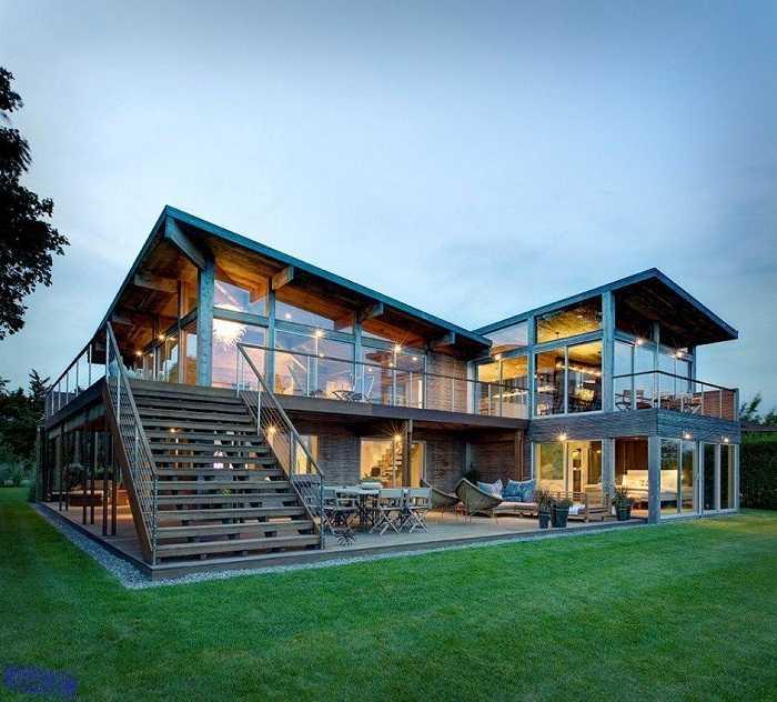 красивые дома проекты, фото 47