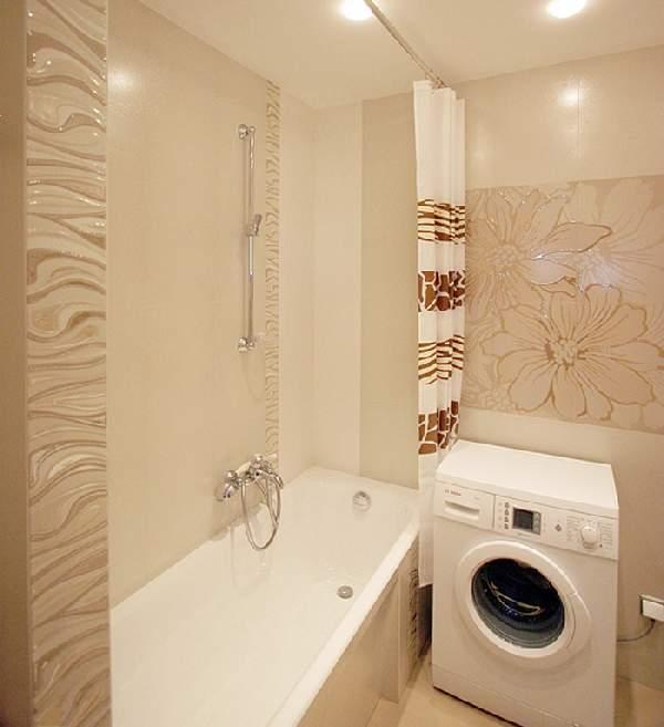 ремонт маленькой ванной комнаты, фото 21