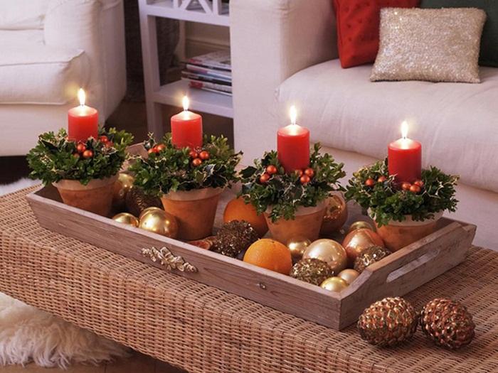 новогодний декор свечей фото 37