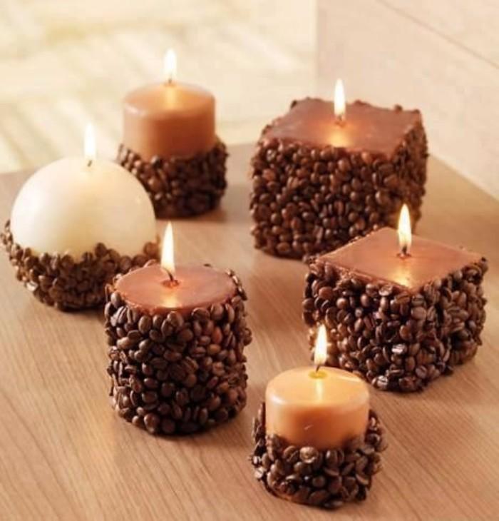 новогодний декор свечей, фото 44
