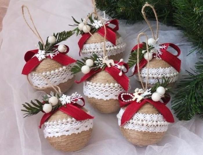 Декор новогодних шаров, фото 27