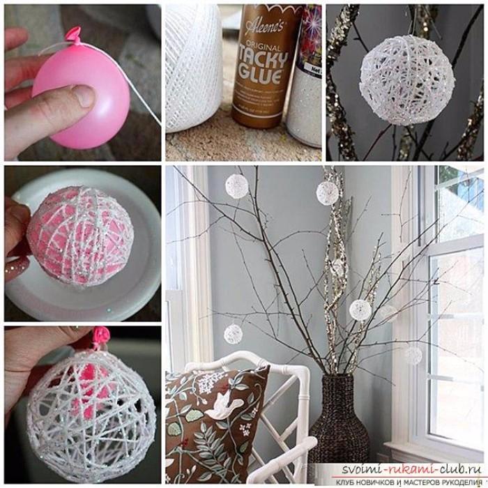 Декор новогодних шаров, фото 28