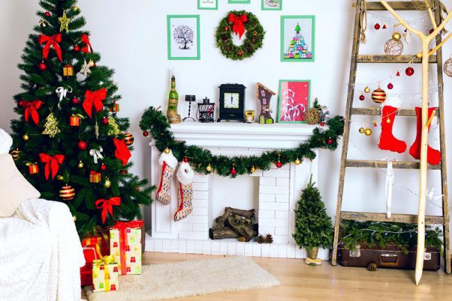 Идеи украшения комнаты на новый год, фото 12