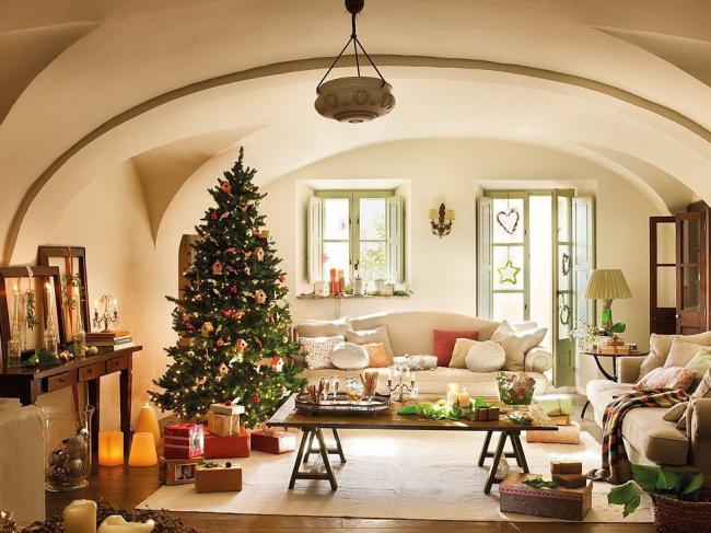 Идеи украшения комнаты на новый год, фото 13