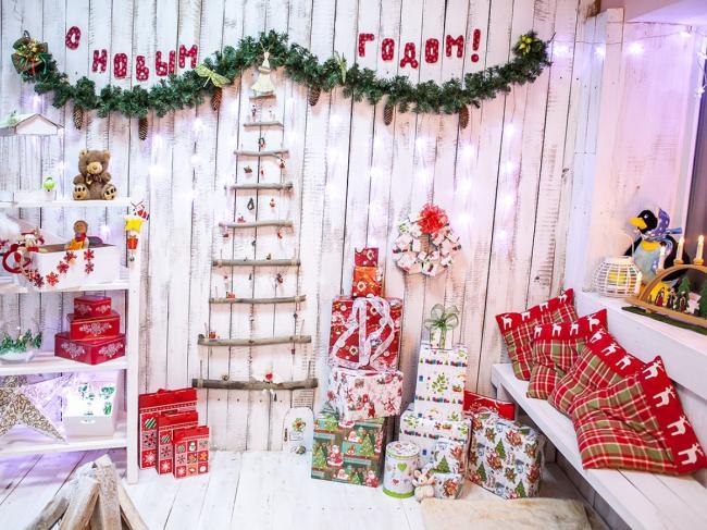 Варианты украшения комнаты на новый год, фото 30