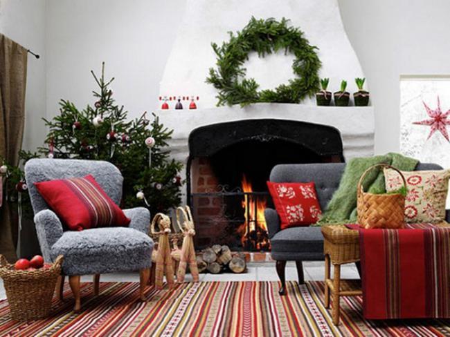 Украшение комнаты к новому году своими руками, фото 10