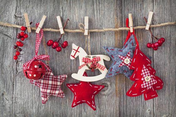 Новогодние гирлянды из фетра своими руками, фото 14