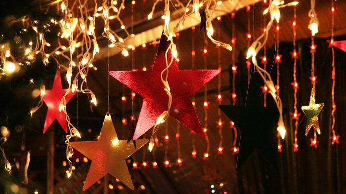 новогодние гирлянды фото 35