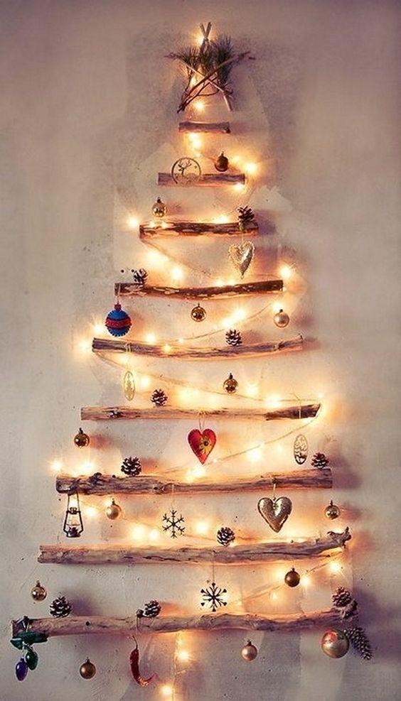 Новогодний декор из дерева, фото 10