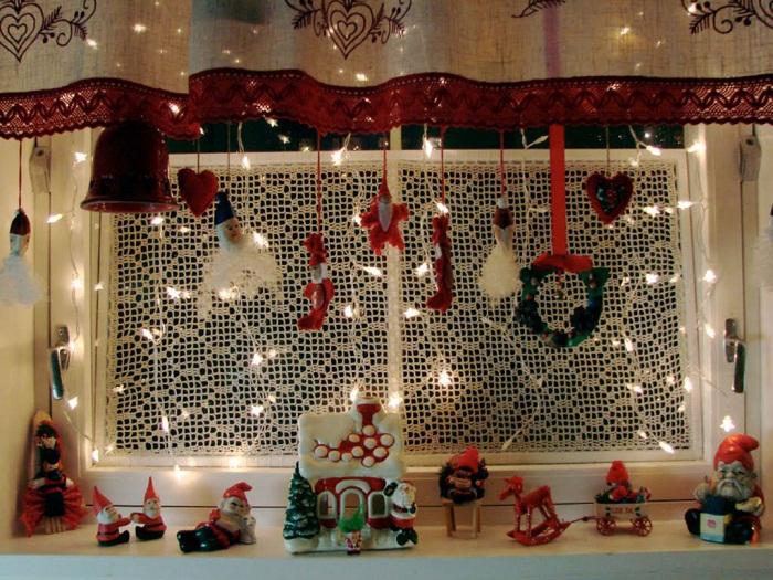 Новогодний декор окна, фото 30