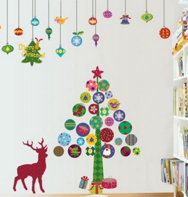 Украшение детской комнаты на новый год, фото 36