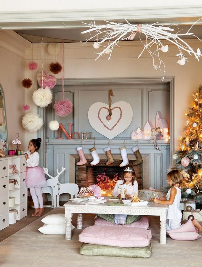 Украшение детской комнаты на новый год, фото 37