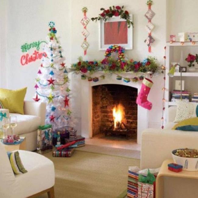 Украшение детской комнаты на новый год, фото 39