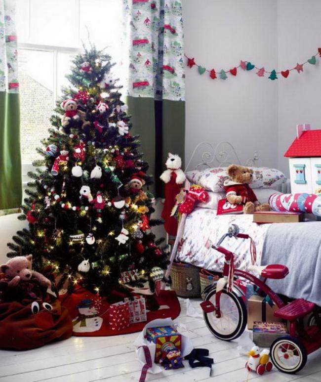 Украшение детской комнаты на новый год, фото 41