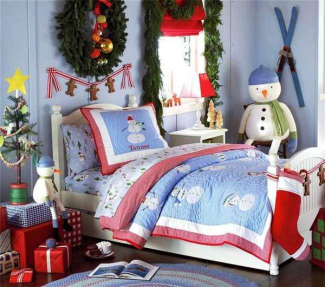 Украшение детской комнаты на новый год, фото 42