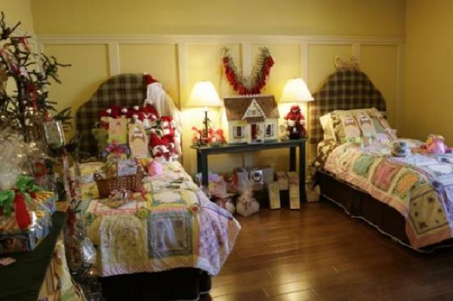 Идеи украшения детской комнаты на новый год, фото 14