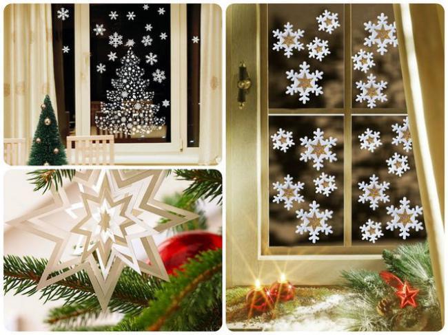 Пример украшения комнаты на новый год, фото 34
