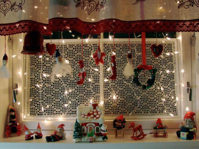Пример украшения комнаты на новый год, фото 33