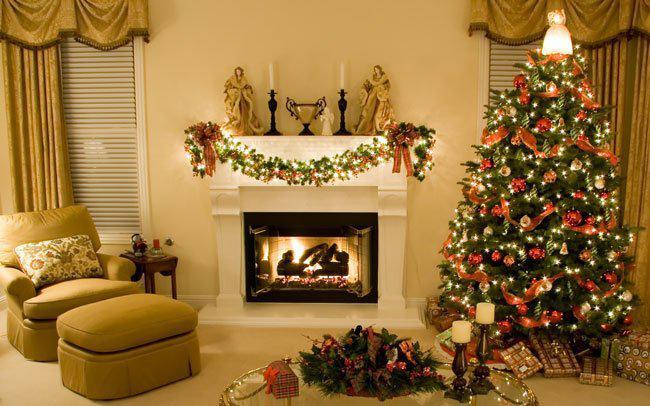 Идеи украшения комнаты на новый год, фото 15