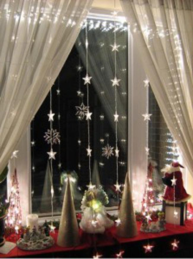 Уютное украшение комнаты к новому году, фото 32