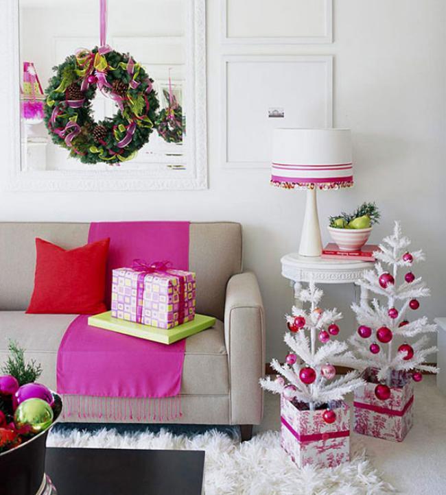 Украшение комнаты на Новый год, фото 1